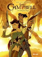 Portada de LOS CAMPBELL 2. El temible pirata Morgan