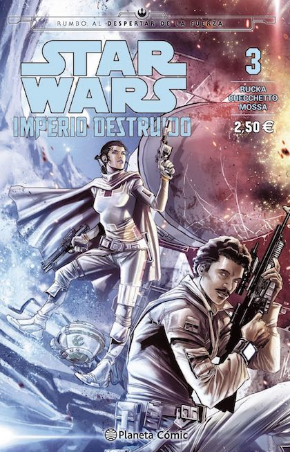 Portada de STAR WARS: IMPERIO DESTRUIDO
