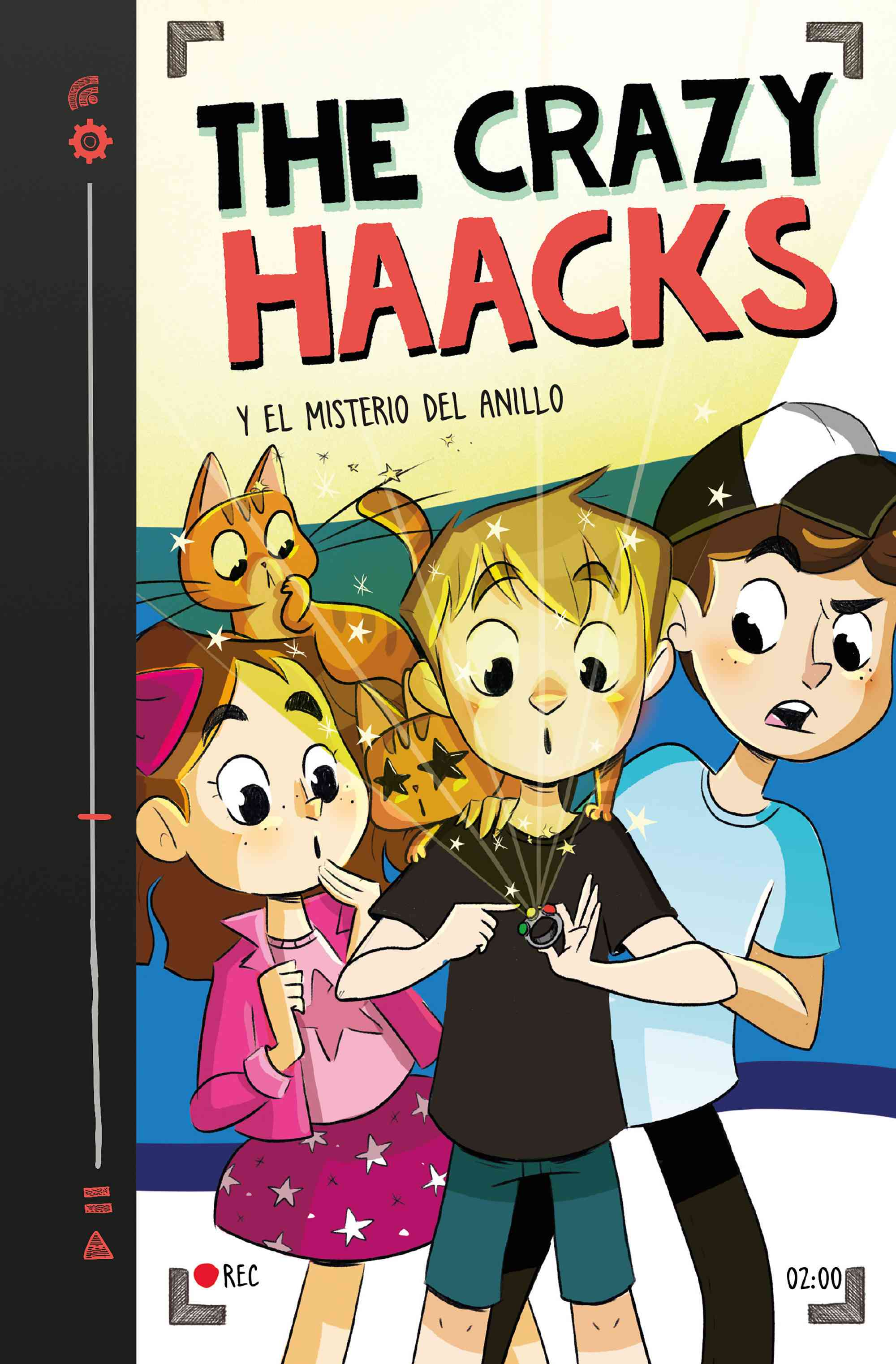 Portada de THE CRAZY HAACKS Y EL MISTERIO DEL ANILLO (Serie The Crazy Haacks 2)