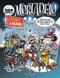 Portada de TOP CÓMIC MORTADELO Nº 37