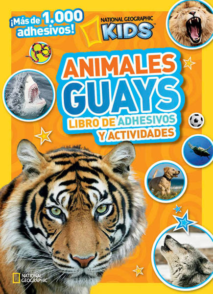 Portada de ANIMALES GUAYS