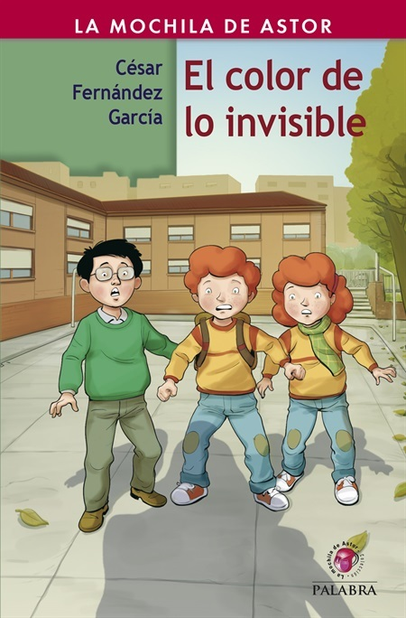 Portada de EL COLOR DE LO INVISIBLE