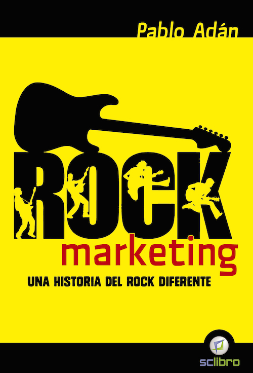 Portada de ROCK MARKETING. Una historia del rock diferente