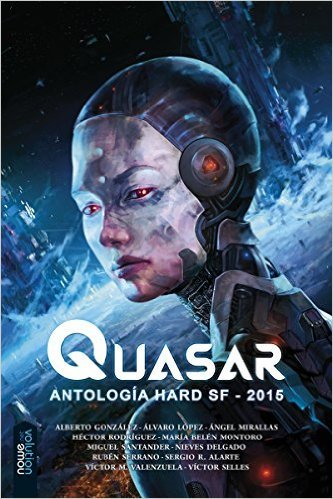 Portada de QUASAR: Antología de Hard Science Fiction