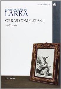 Portada de OBRAS COMPLETAS I. ARTÍCULOS