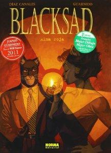 Portada de ALMA ROJA (BLACKSAD #3)