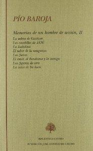 Portada de MEMORIAS DE UN HOMBRE DE ACCIÓN, TOMO II