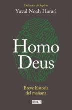 Portada de HOMO DEUS: UNA BREVE HISTORIA DEL FUTURO