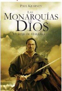 Portada de EL VIAJE DE HAWKWOOD (LAS MONARQUÍAS DE DIOS #1)