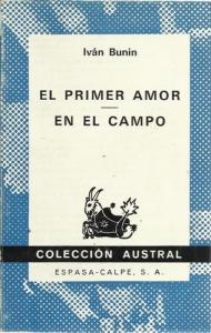 Portada de EL PRIMER AMOR. EN EL CAMPO