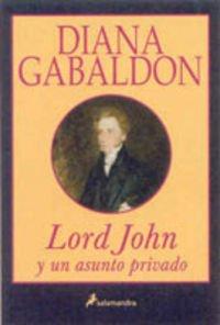 Portada de LORD JOHN Y UN ASUNTO PRIVADO