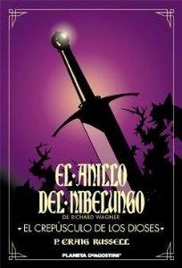 Portada de EL CREPÚSCULO DE LOS DIOSES (EL ANILLO DEL NIBELUNGO#4)