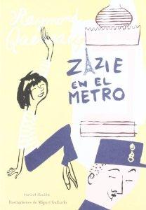 Portada de ZAZIE EN EL METRO