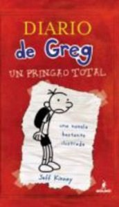 Portada de DIARIO DE GREG 1. UN PRINGAO TOTAL