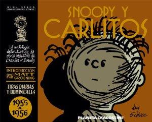 Portada de SNOOPY Y CARLITOS. 1955 A 1956 (SNOOPY Y CARLITOS#3)