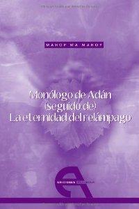 Portada de MONÓLOGO DE ADÁN