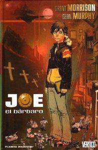 Portada de JOE EL BÁRBARO