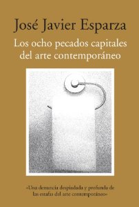 Portada de LOS OCHOS PECADOS CAPITALES DEL ARTE CONTEMPORÁNEO