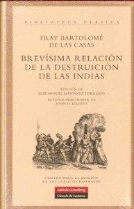 Portada de BREVÍSIMA RELACIÓN DE LA DESTRUCCIÓN DE LAS INDIAS