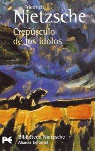 Portada de CREPÚSCULO DE LOS ÍDOLOS