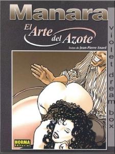 Portada de EL ARTE DEL AZOTE