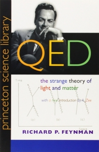 Portada de QED: THE STRANGE THEORY OF LIGHT AND MATTER