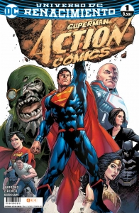 Portada de SUPERMAN. ACTION COMICS 1 (RENACIMIENTO#1)