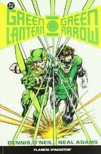 Portada de GREEN LANTERN / GREEN ARROW