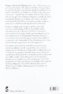 Portada de LAS AUTÉNTICAS MEMORIAS DE VIDOCQ (MIS MEMORIAS)