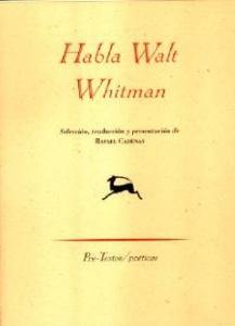 HABLA WALT WHITMAN
