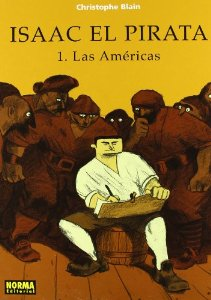 Portada de ISAAC EL PIRATA: LAS AMÉRICAS (ISAAC EL PIRATA#1)