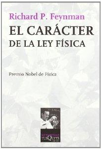 Portada de EL CARÁCTER DE LA LEY FÍSICA