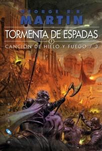 Portada de TORMENTA DE ESPADAS (CANCIÓN DE HIELO Y FUEGO #3)