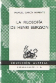 Portada de LA FILOSOFÍA DE HENRI BERGSON