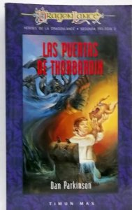 Portada de LAS PUERTAS DE THORBARDIN (HÉROES II DE DRAGONLANCE #2)