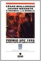 Portada de PREMIO UPC 1995: NOVELA CORTA DE CIENCIA-FICCIÓN