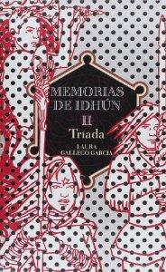 Portada de TRÍADA (MEMORIAS DE IDHÚN #2)