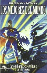 Portada de SUPERMAN - BATMAN: LOS MEJORES DEL MUNDO