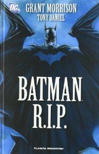 Portada de BATMAN RIP
