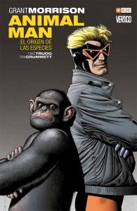 Portada de ANIMAL MAN LIBRO 2: EL ORIGEN DE LAS ESPECIES (ANIMAL MAN#2)