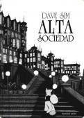Portada de ALTA SOCIEDAD (CEREBUS#1)