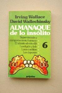 Portada de ALMANAQUE DE LO INSÓLITO VOL. 6