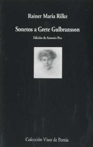 Portada de SONETOS A GRETE GULBRANSSON