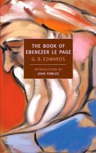 Portada de THE BOOK OF EBENEZER LE PAGE