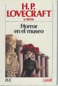 Portada de HORROR EN EL MUSEO