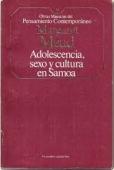 Portada de ADOLESCENCIA, SEXO Y CULTURA EN SAMOA