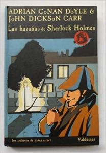 Portada de LAS HAZAÑAS DE SHERLOCK HOLMES (LOS ARCHIVOS DE BAKER STREET#1).