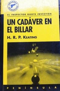 Portada de UN CADÁVER EN EL BILLAR