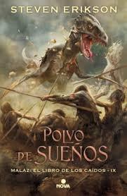 Portada de POLVO DE SUEÑOS (MALAZ: EL LIBRO DE LOS CAÍDOS # 9)
