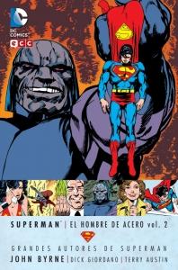 Portada de SUPERMAN: EL HOMBRE DE ACERO (GRANDES AUTORES DE SUPERMAN: JOHN BYRNE #2)